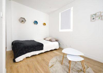 LE SALON ESPACE COUCHAGE - Le Petit Martégal appartement à Martigues