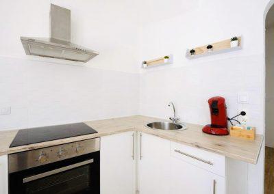 LA CUISINE - Le Petit Martégal appartement à Martigues